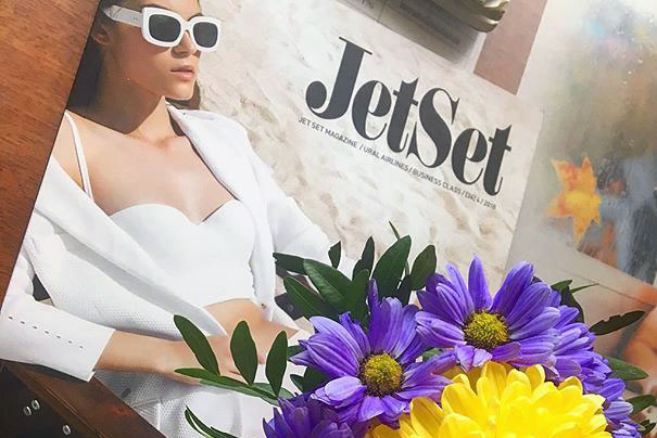 Advertisement placing in Jet Set Magazine